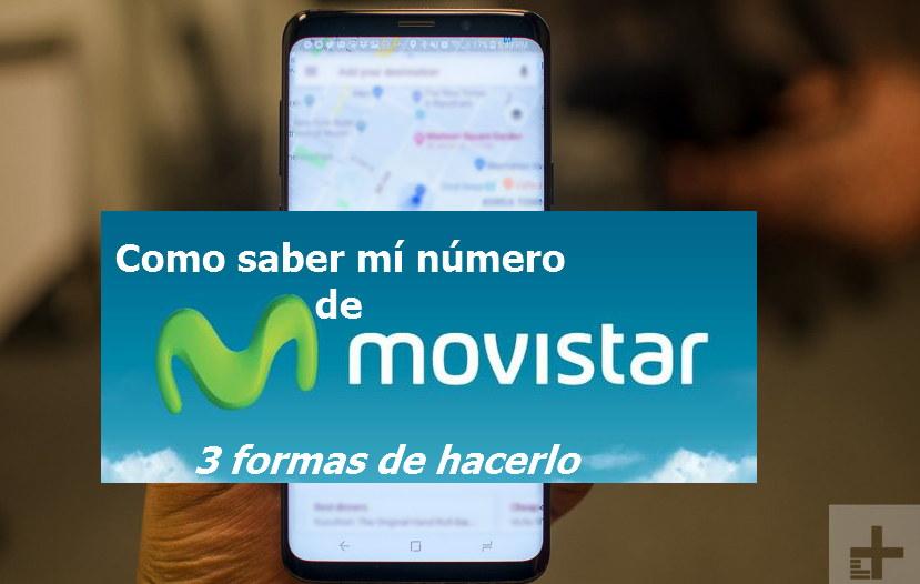 Como saber mí número Movistar El Salvador