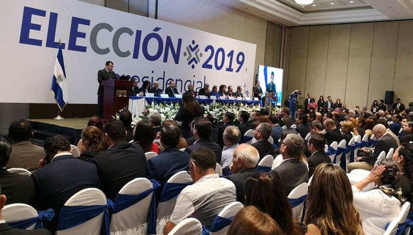 elecciones del 3 febrero 2019 en El Salvador analisis