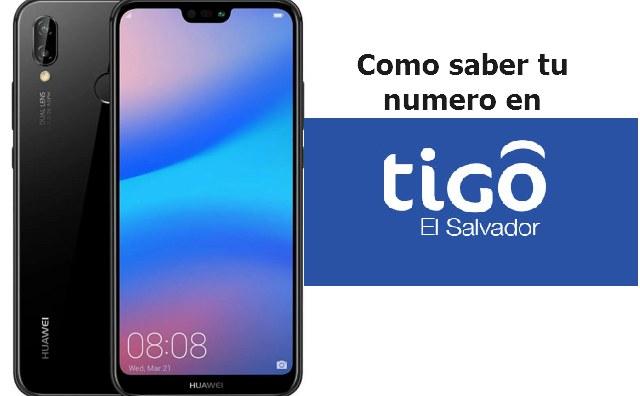 Como saber mi numero en tigo El Salvador