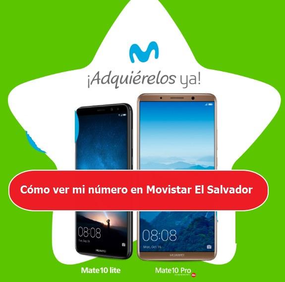 ver mi número en Movistar El Salvador