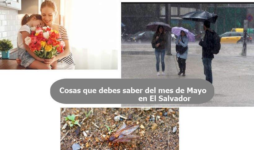 Cosas que debes saber del mes de Mayo que sucede en El Salvador