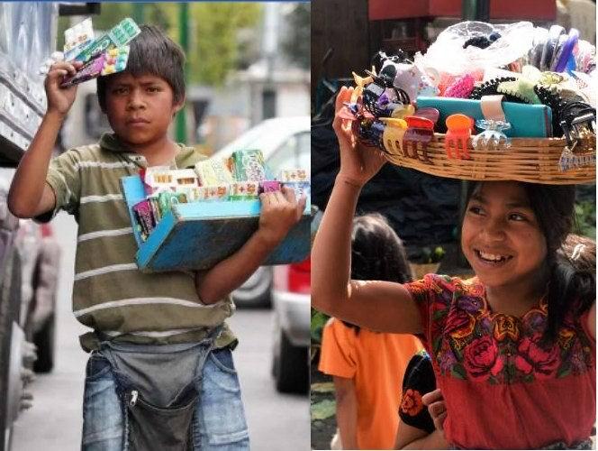 Trabajo infantil en El Salvador