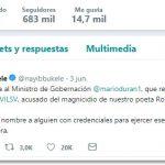 Thumbnail Dar ordenes por twitter es la nueva moda de Nayib Bukele