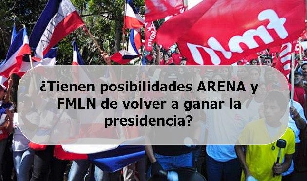 Arena o Fmln en la presidencia otra vez