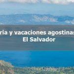 Thumbnail Fiestas y vacaciones agostinas 2019 El Salvador