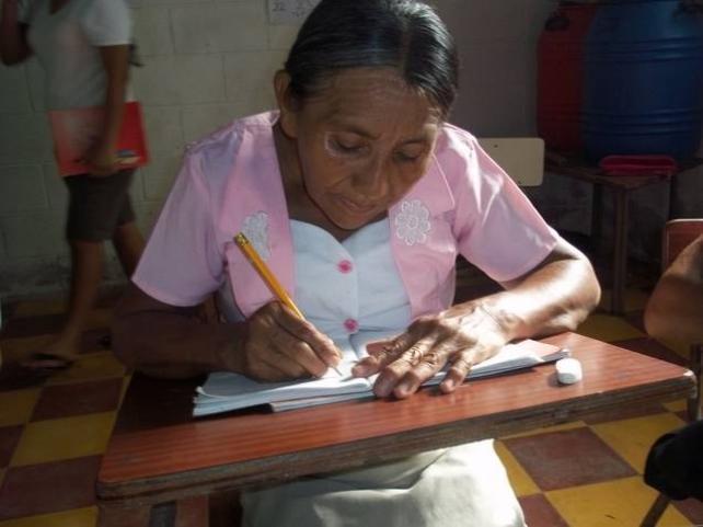 Analfabetismo en El Salvador (Actual)