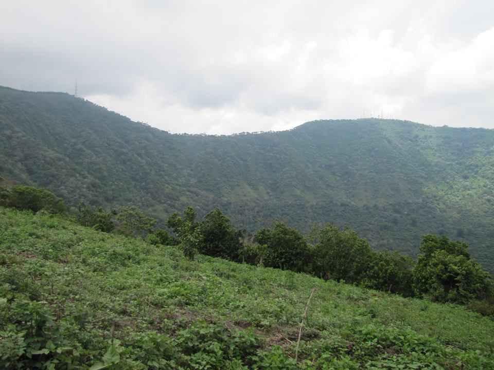 Grandioso paisaje desde el cerro pacayal