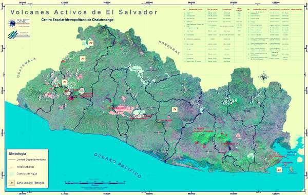 Thumbnail Volcanes de El Salvador
