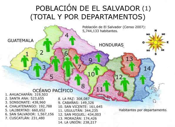 Thumbnail Demografía de El Salvador