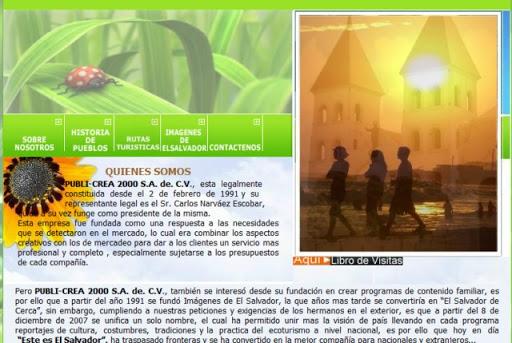 Thumbnail esteeselsalvador.org – programa televisivo relacionado al turismo en El Salvador