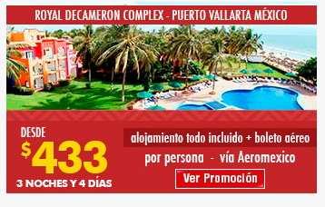 oferta para hotel en Mexico Royal decameron