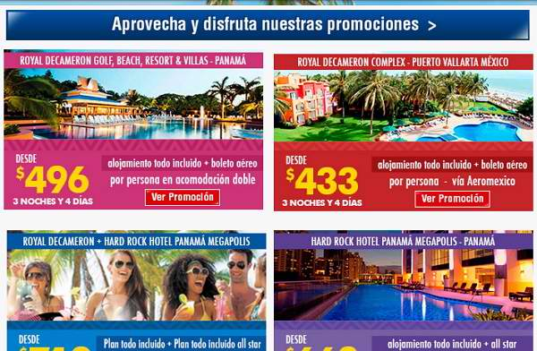 ofertas royal decameron