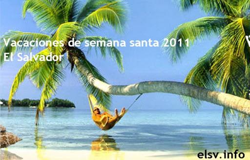 Thumbnail Vacaciones de semana santa 2011 El Salvador, lugares para visitar